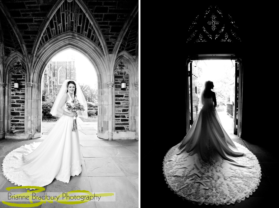 Duke University Chapel And Gardens Wedding Brianne Bradbury Photography
